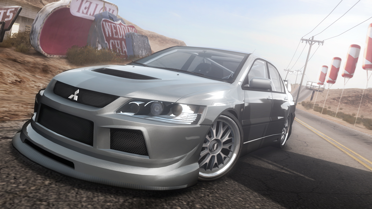 Need For speed pro With evo X - EvolutionM - Mitsubishi